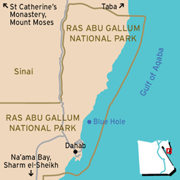 Abu Gallum Map