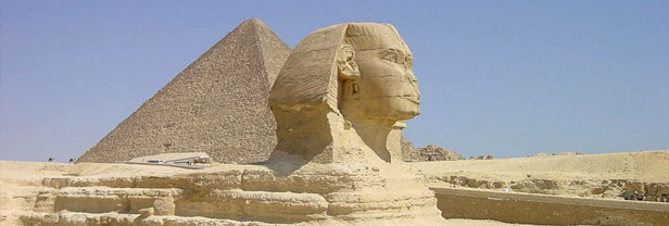 Giza, Sphinx and the Pyramids