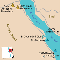Hurghada Red Sea Egypt Hurghada Red Sea Resorts Things To Do - Map of egypt holiday resorts