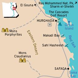 Hurghada Map