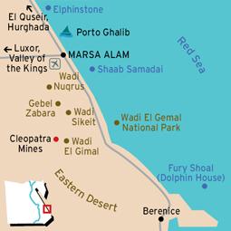 Marsa Alam Map