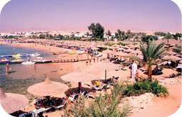 Sharm El-Sheikh Na'ama Bay beach