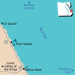 Port Ghalib Map