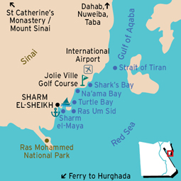Sharm El-Sheikh Sharm El Sheikh Map
