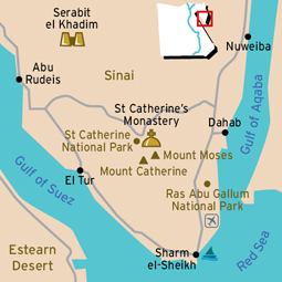 St Catherine Map