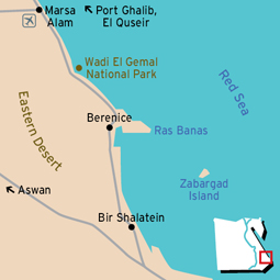 Wadi El Gemal Map