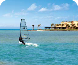 Windsurfing at Hurghada