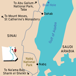 Dahab And Nabq Dahab Egypt Things To Do In Dahab Things To - Map of egypt dahab