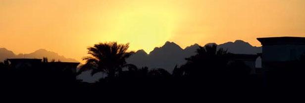 Sunset at Hurghada