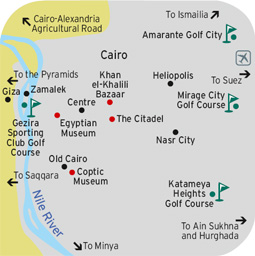 Cairo Golf Map